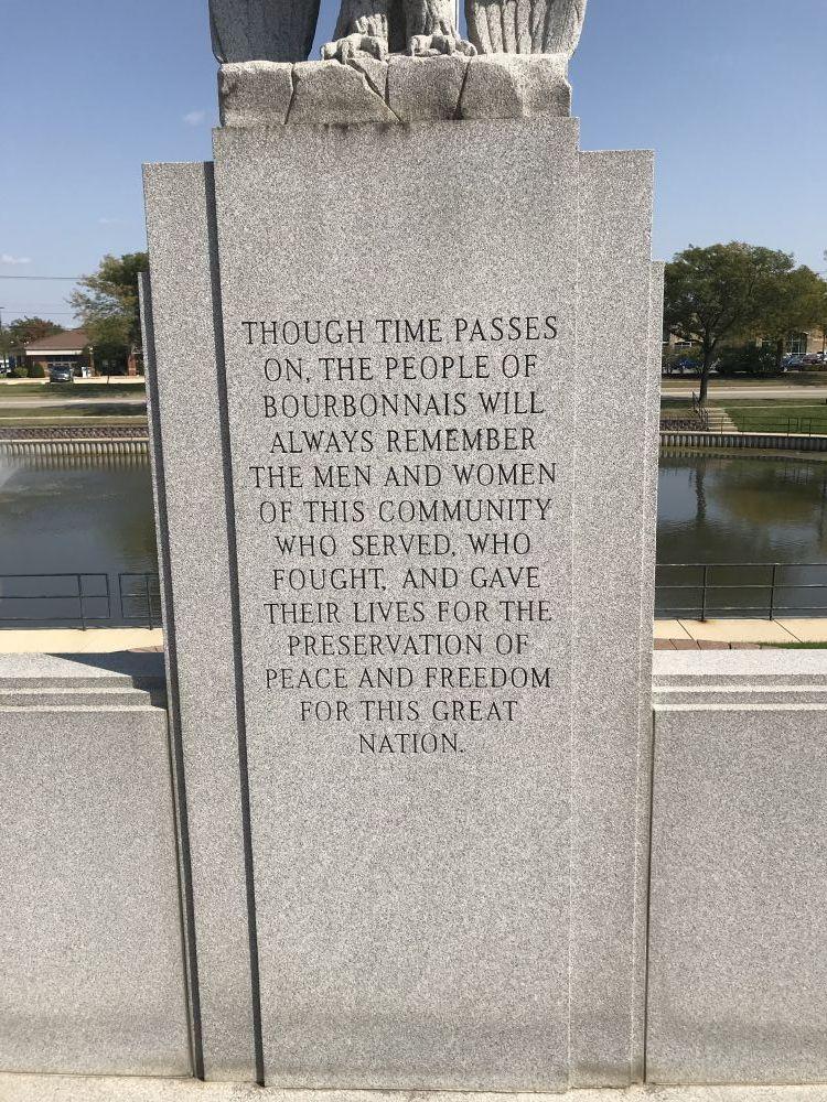 City of Bourbonnais, Illinois Memorial