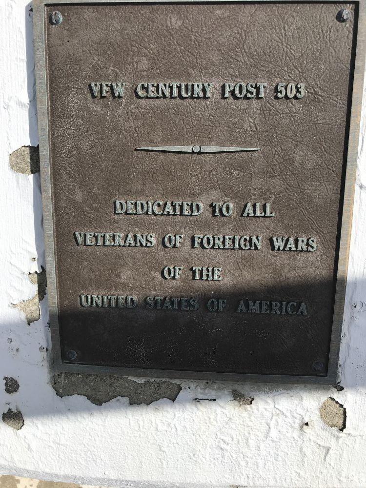 VFW Post 503 Memorial  Downers Grove
