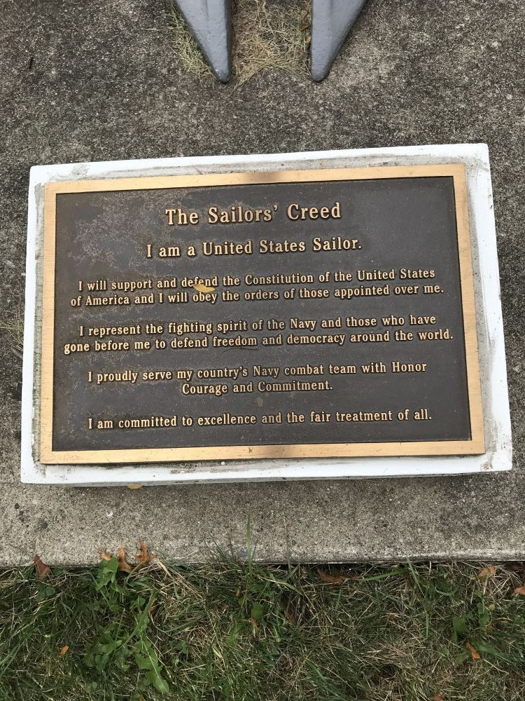 The Sailors' Creed, Downers Grove, Illinois