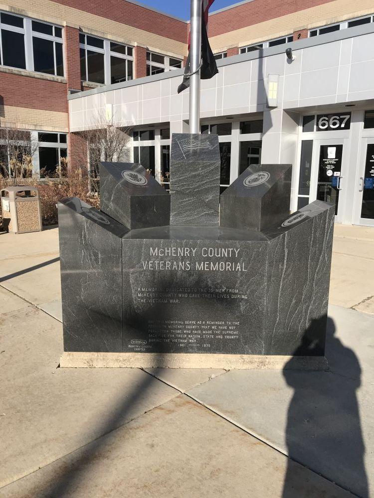 McHenry County Veterans Memorial, Woodstock, Illinois