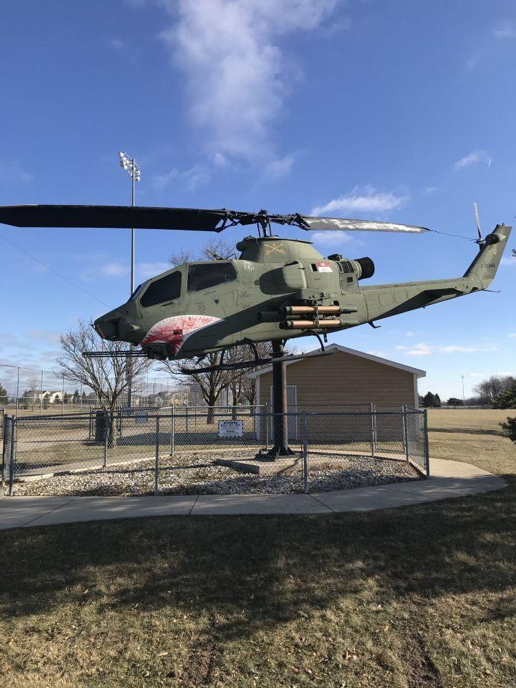 AH-1F Cobra, Lake Geneva, Wisconsin