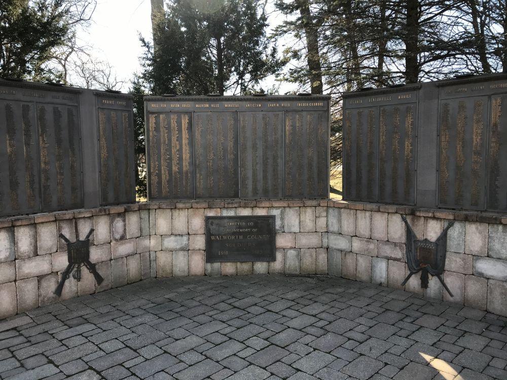 Walworth County Civil War Memorial, Elkhorn, Wisconsin