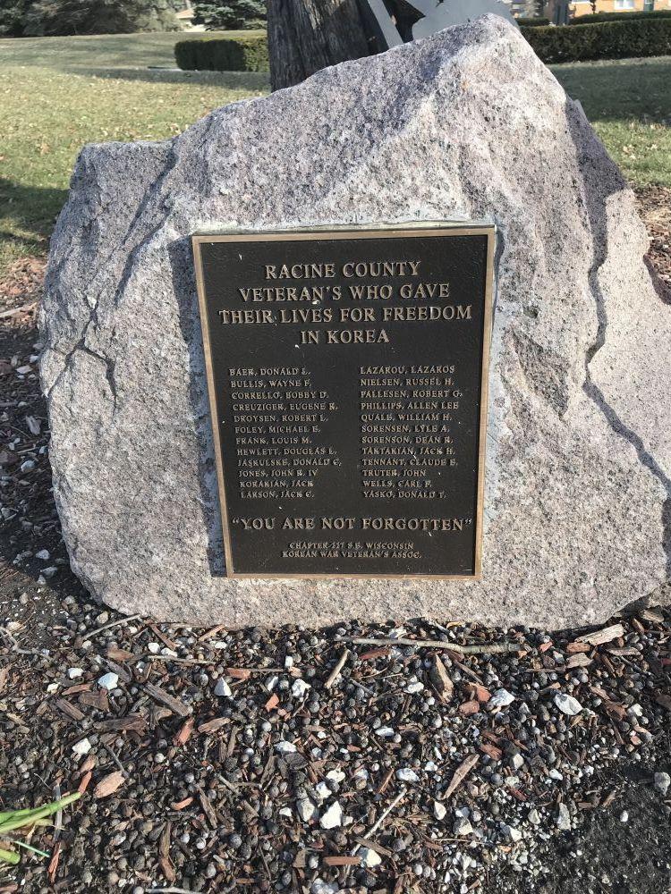 Racine County Korea Memorial, Racine, Wisconsin