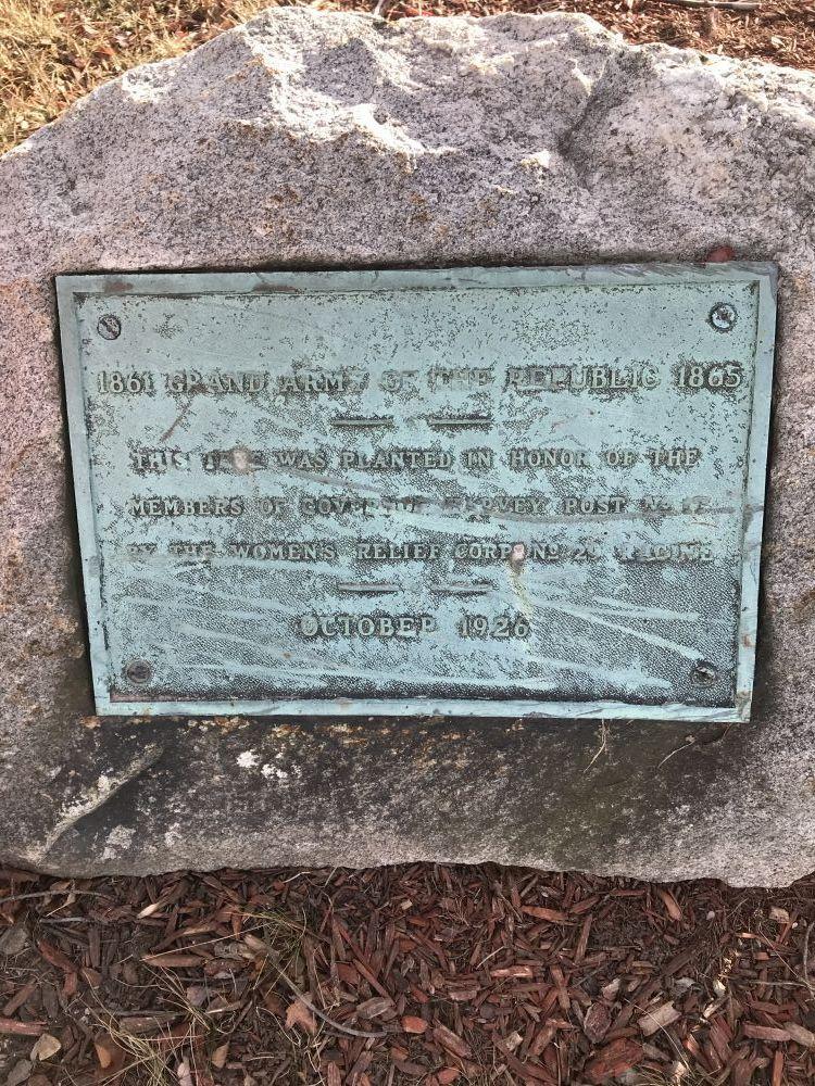 Civil War Plaque, Racine, Wisconsin
