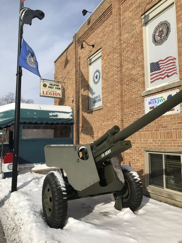 American Legion Post 690 Cannon, Palatine, Illinois