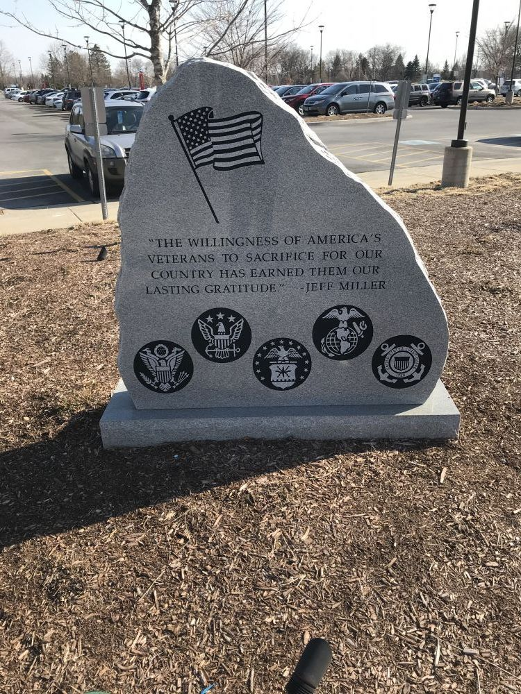 Hospital Memorial, Barrington, Illinois