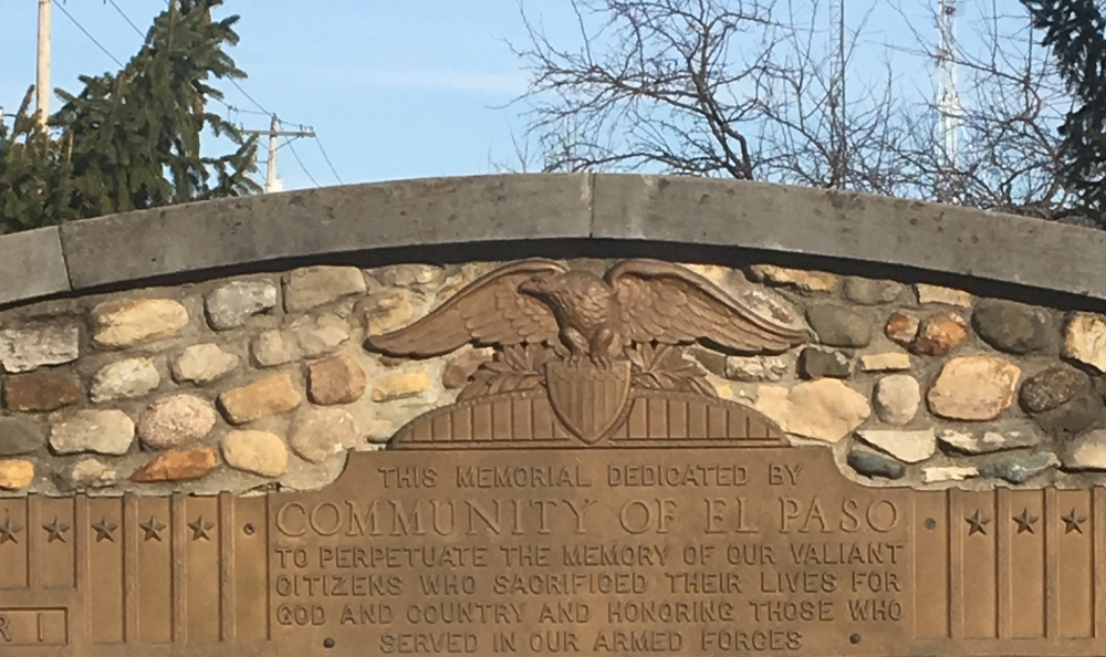 Community of El Paso WWI and WWII Memorial