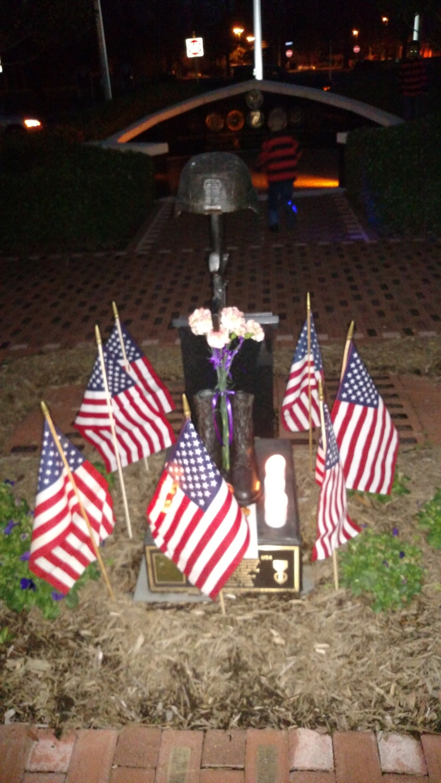 SSG Jonathan Kilian Dozier Soldier's Cross