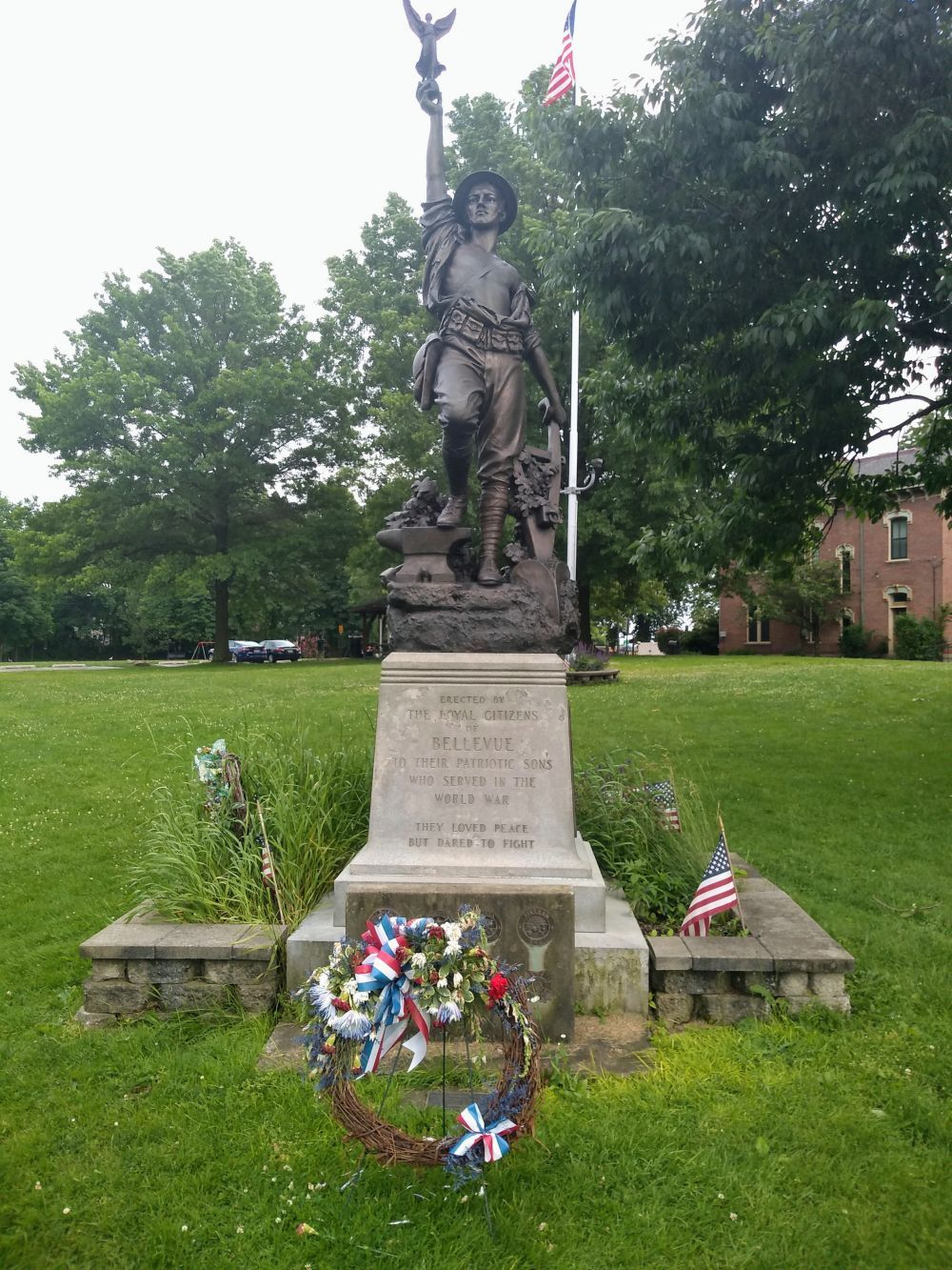 World War I Memorial, Belvue, Pennsylvania