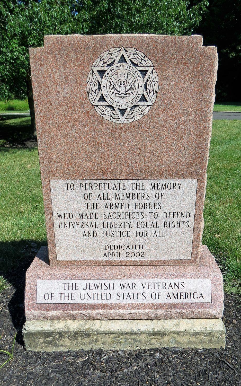 Jewish War Veterans Memorial, Wrightstown, New Jersey