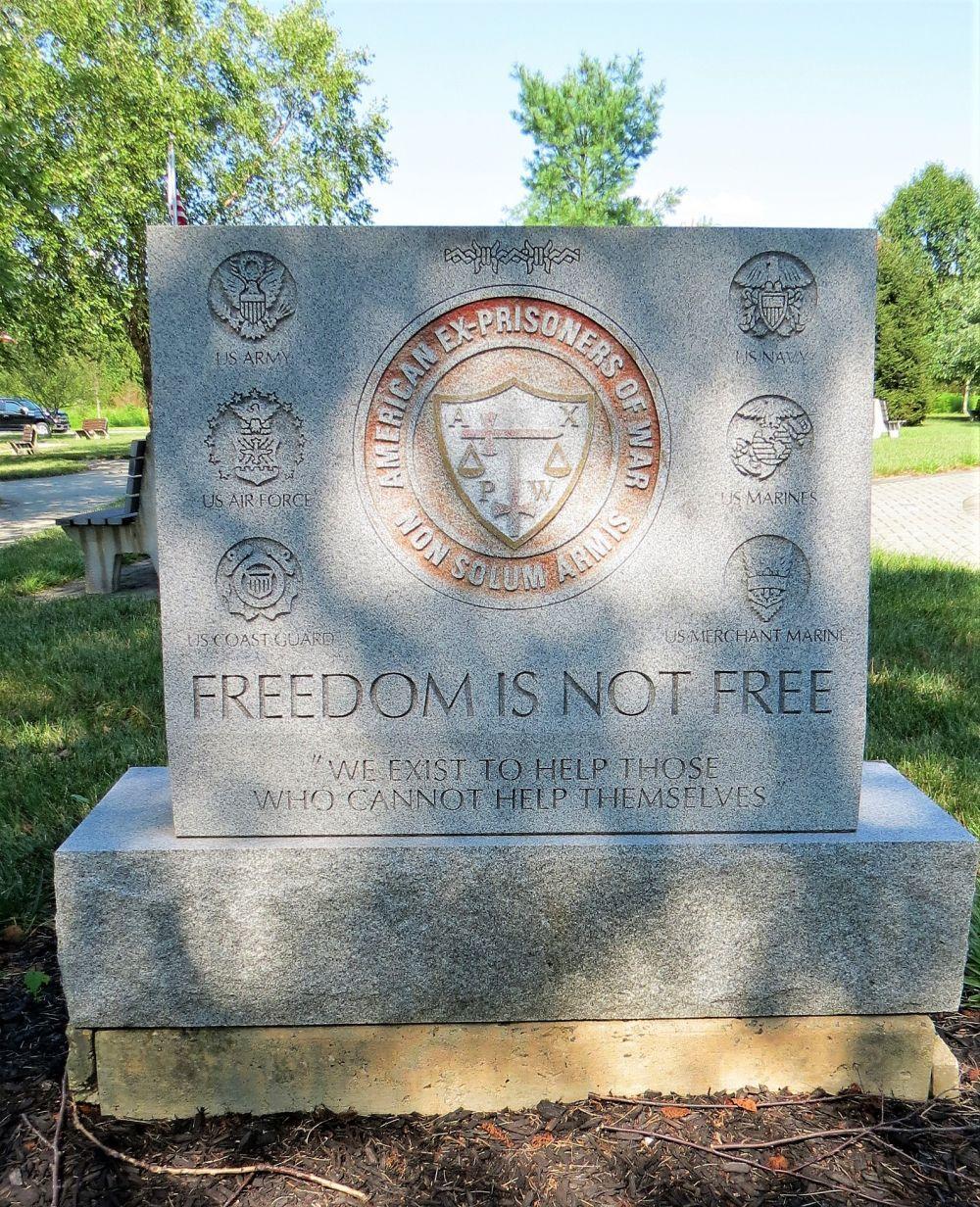 American Ex-Prisoners of War Memorial, Wrightstown, New Jersey