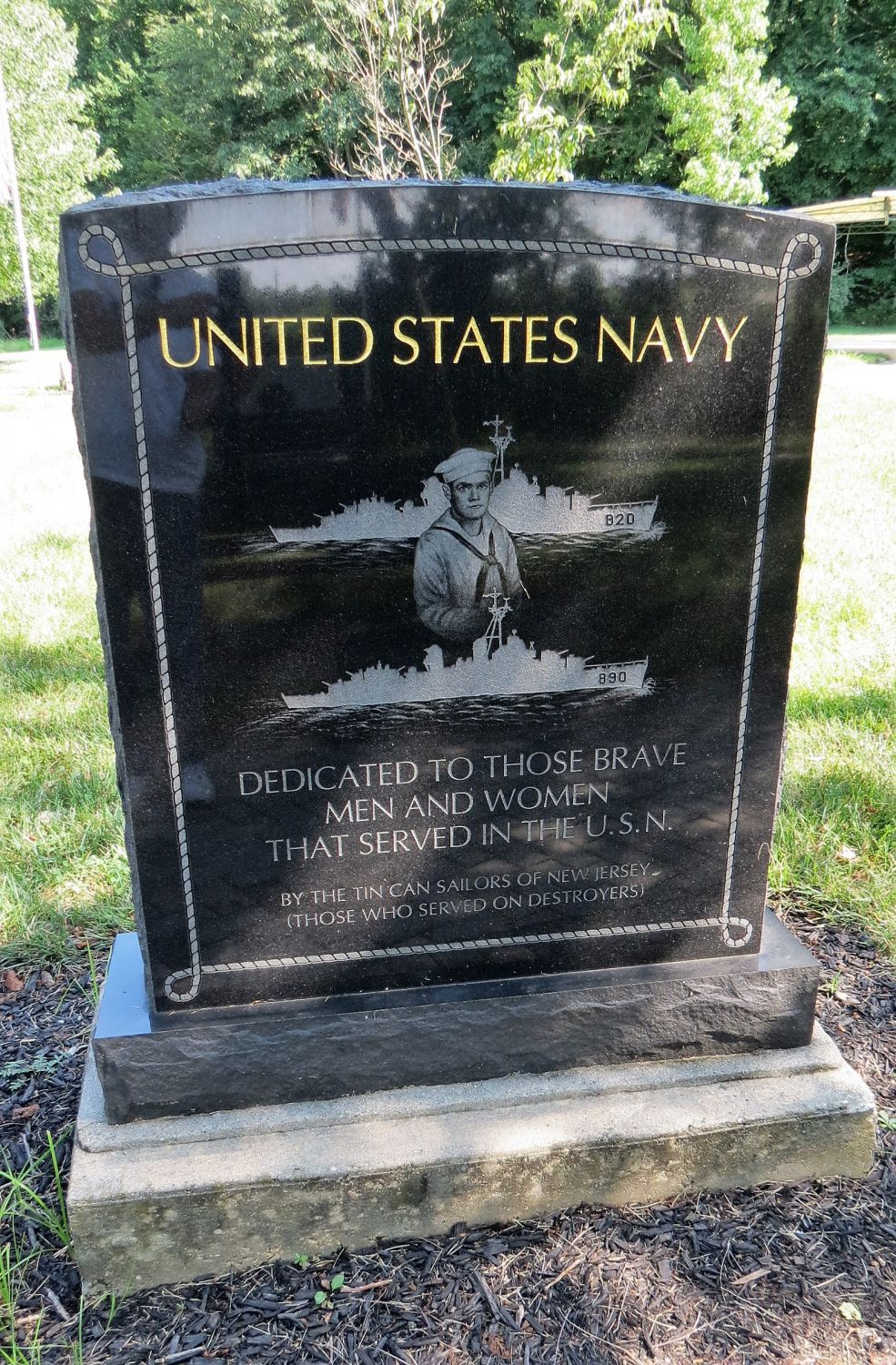 United States Navy Memorial, Wrightstown, New Jersey