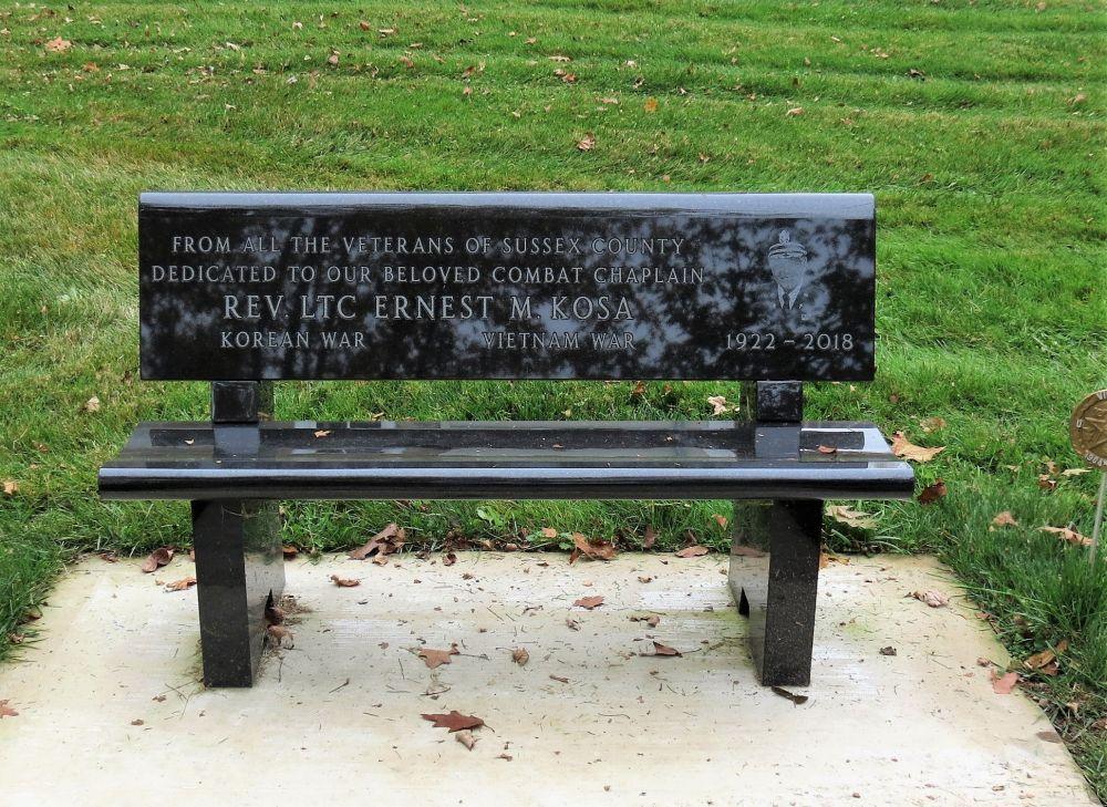 Rev. LTC Ernest M. Kosa Memorial, Lafayette, New Jersey