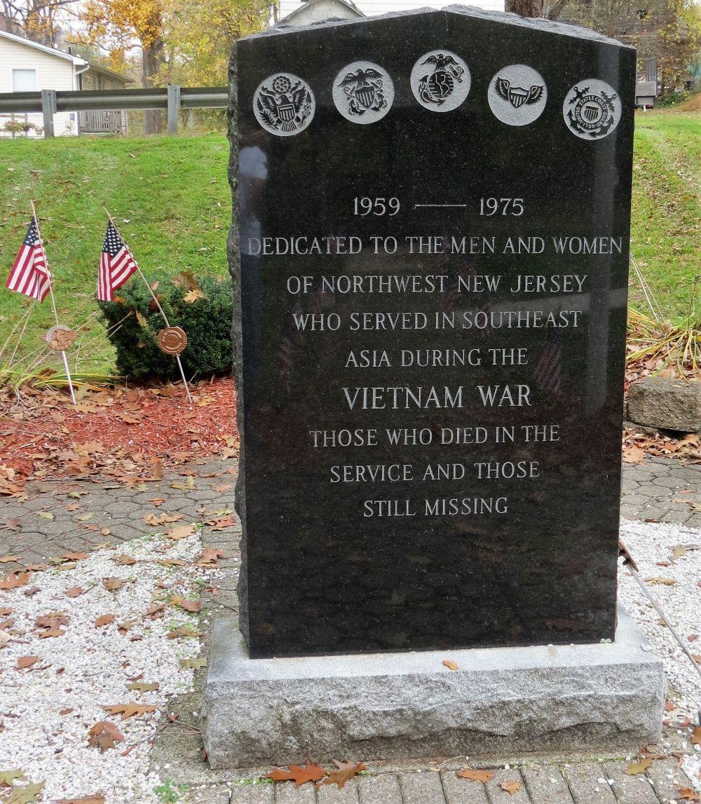 Northwest New Jersey Vietnam Memorial