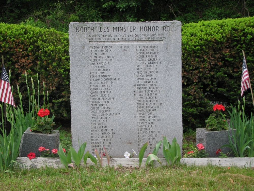 North Westminster Honor Roll Memorial
