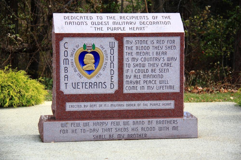 Purple Heart Memorial Military And Veterans Memorials