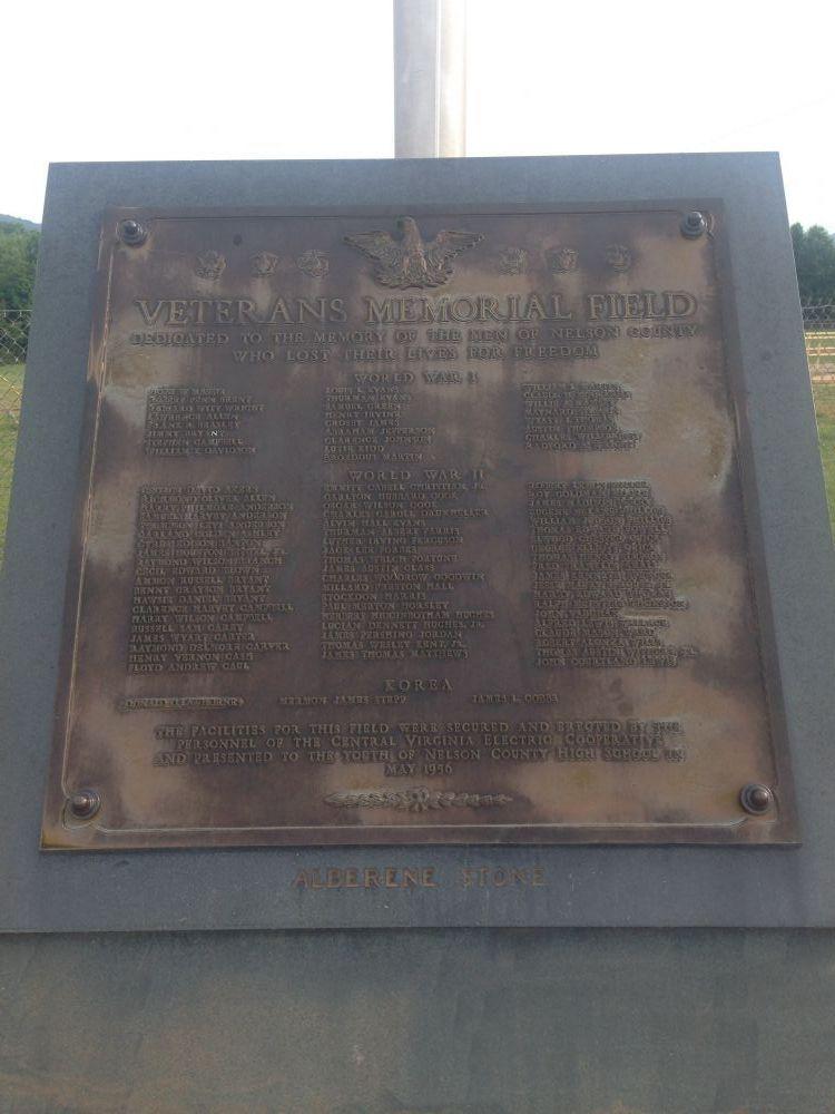 Nelson County War Memorial