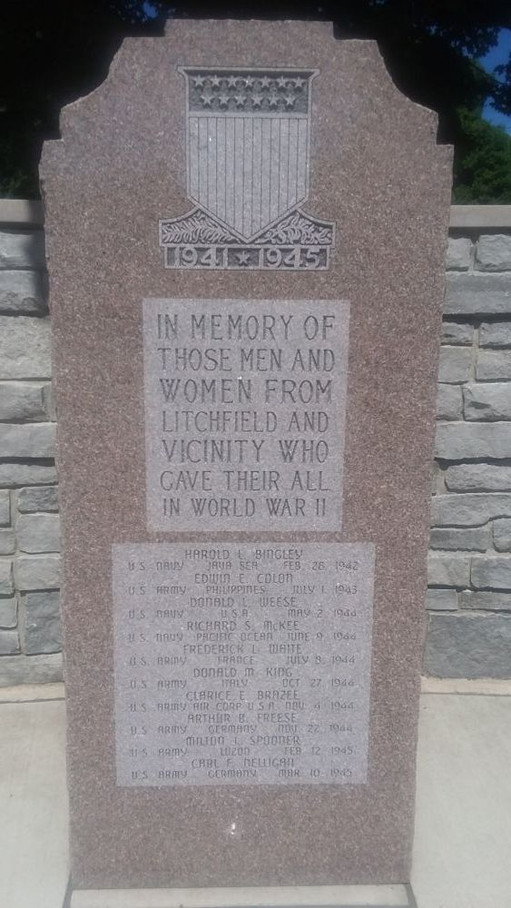 Litchfield Michigan Veterans Memorial