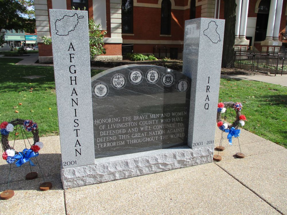 Livingston County Afghanistan and Iraq Memorial