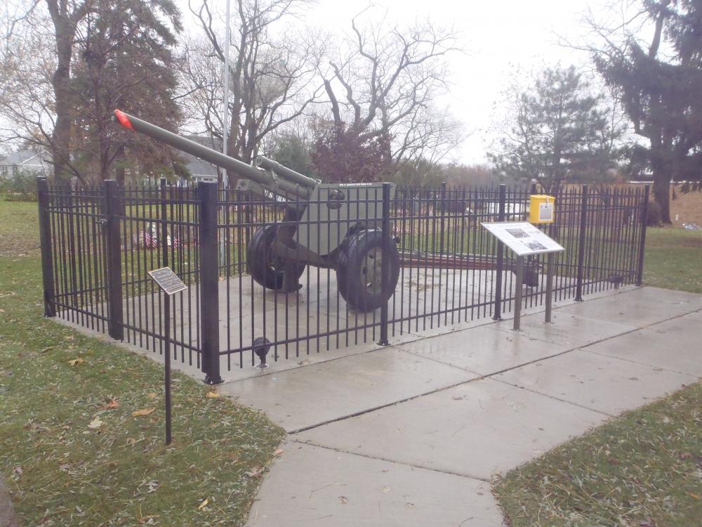 M-5 Anti-Tank Gun Memorial | The American Legion