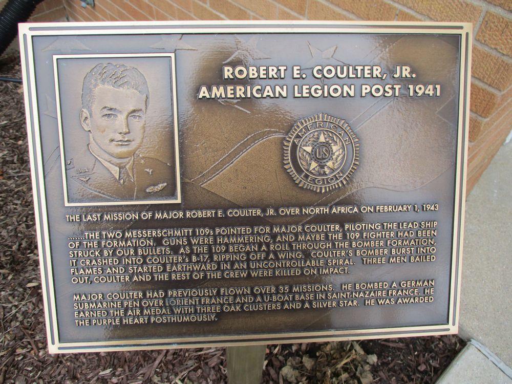 Major Robert E. Coulter, Jr. Memorial