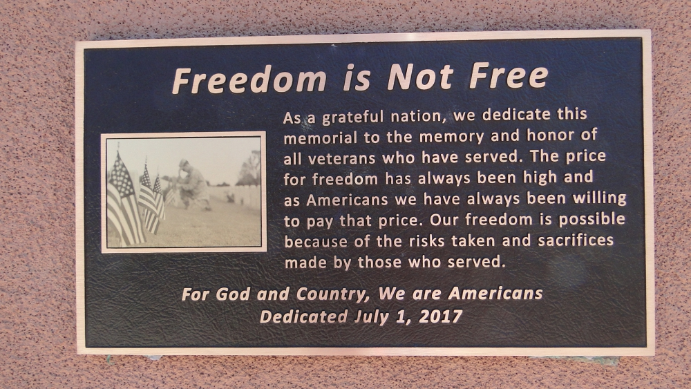 Freedom is Not Free   The American Legion