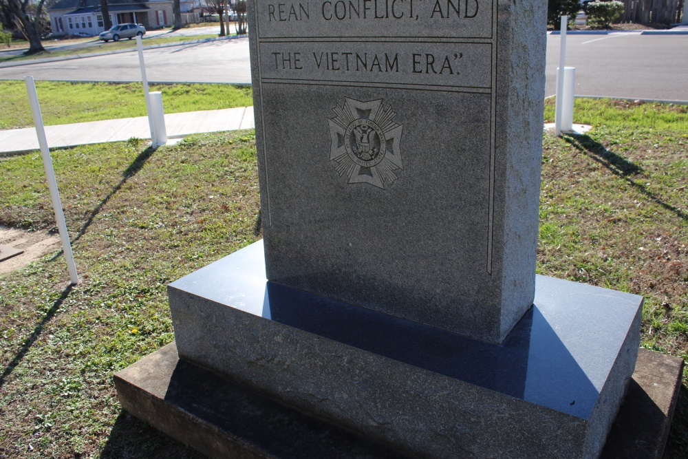 War Memorial Hohenwald, Tennessee, Lewis County