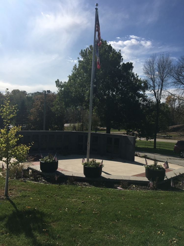 The Veterans Memorial of Mount Vernon, Iowa