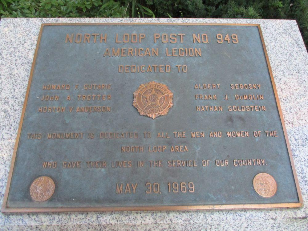 North Loop Veterans Memorial