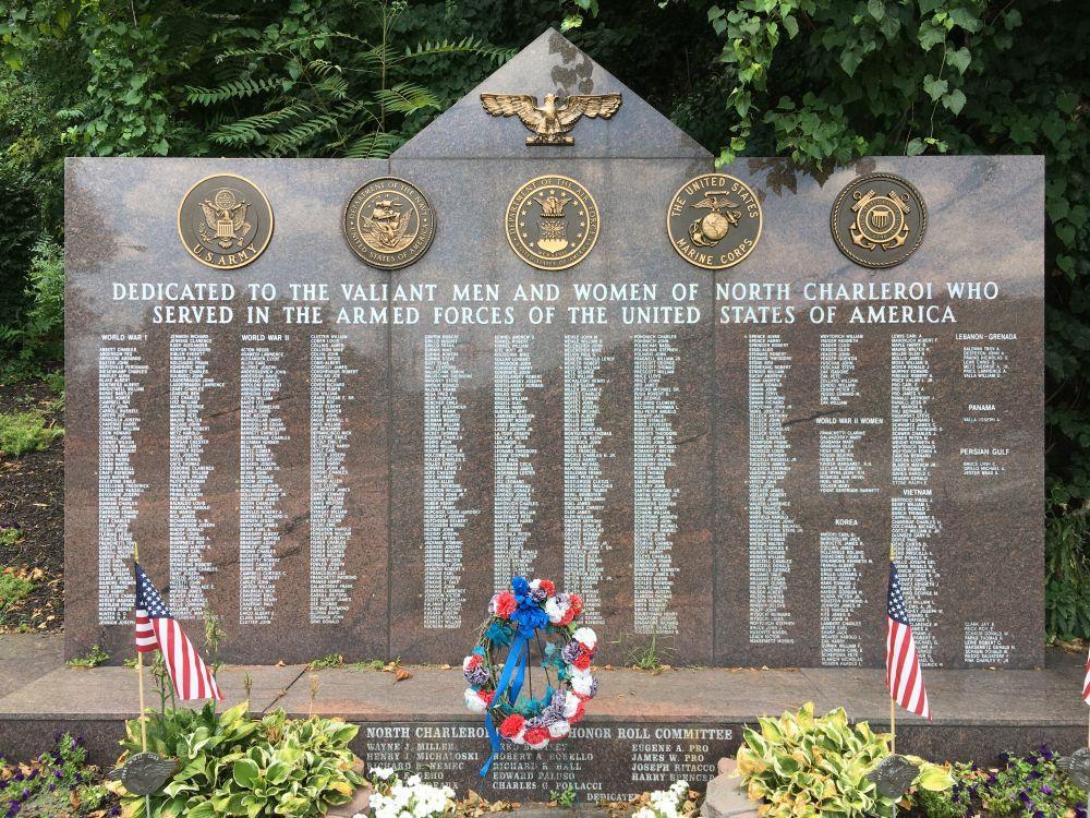 North Charleroi Pennsylvania Veterans Memorial