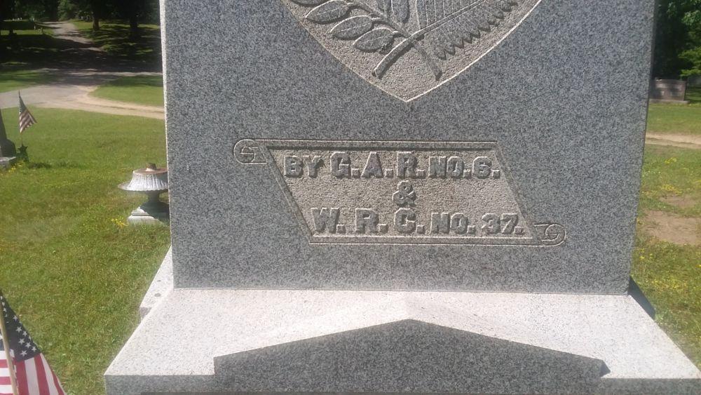 Civil War Monument, Hillsdale, Michigan