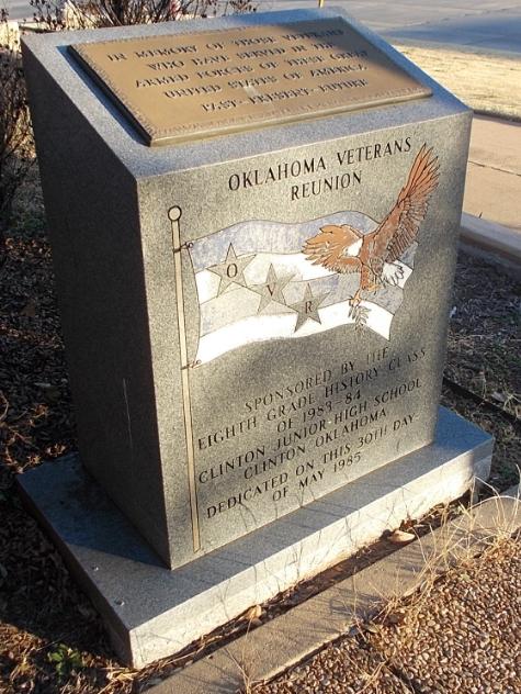 Oklahoma Veterans Reunion Memorial, Clinton, Oklahoma