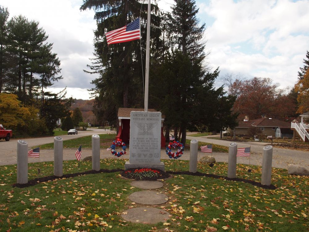American Legion Veterans Memorial, Glenshaw, Pennsylvania