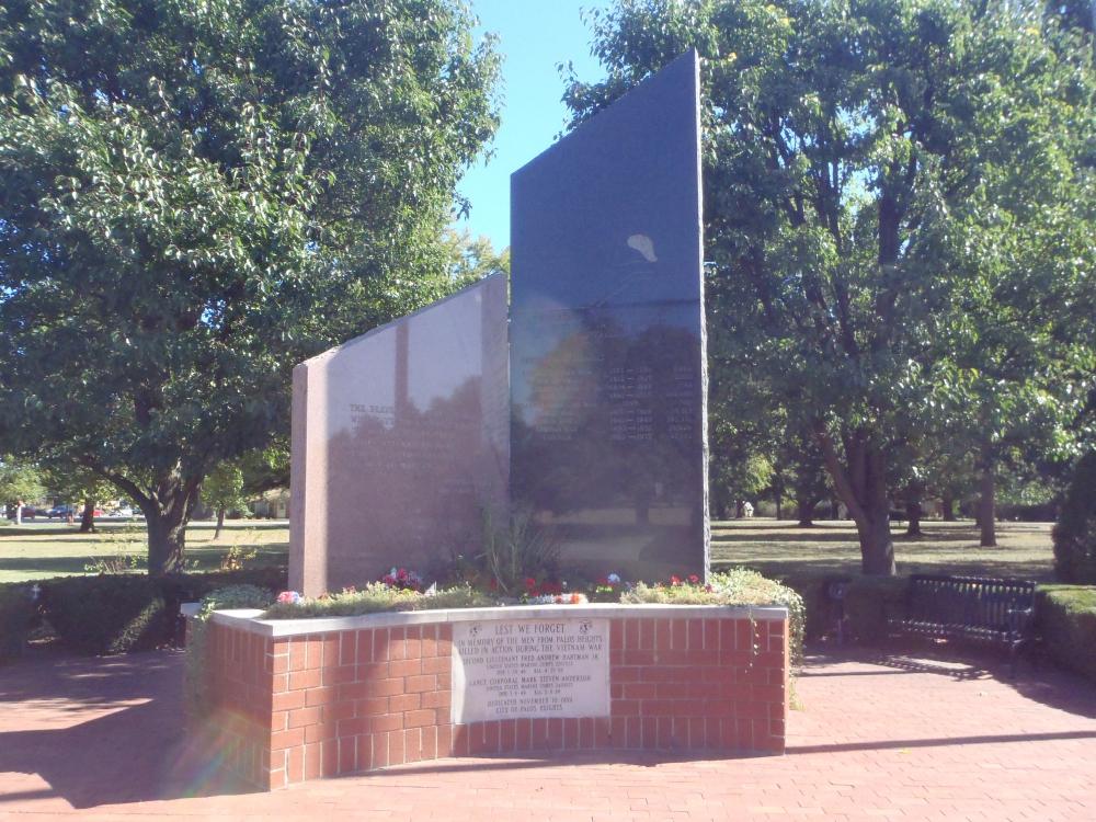 Palos Heights Veterans Memorial