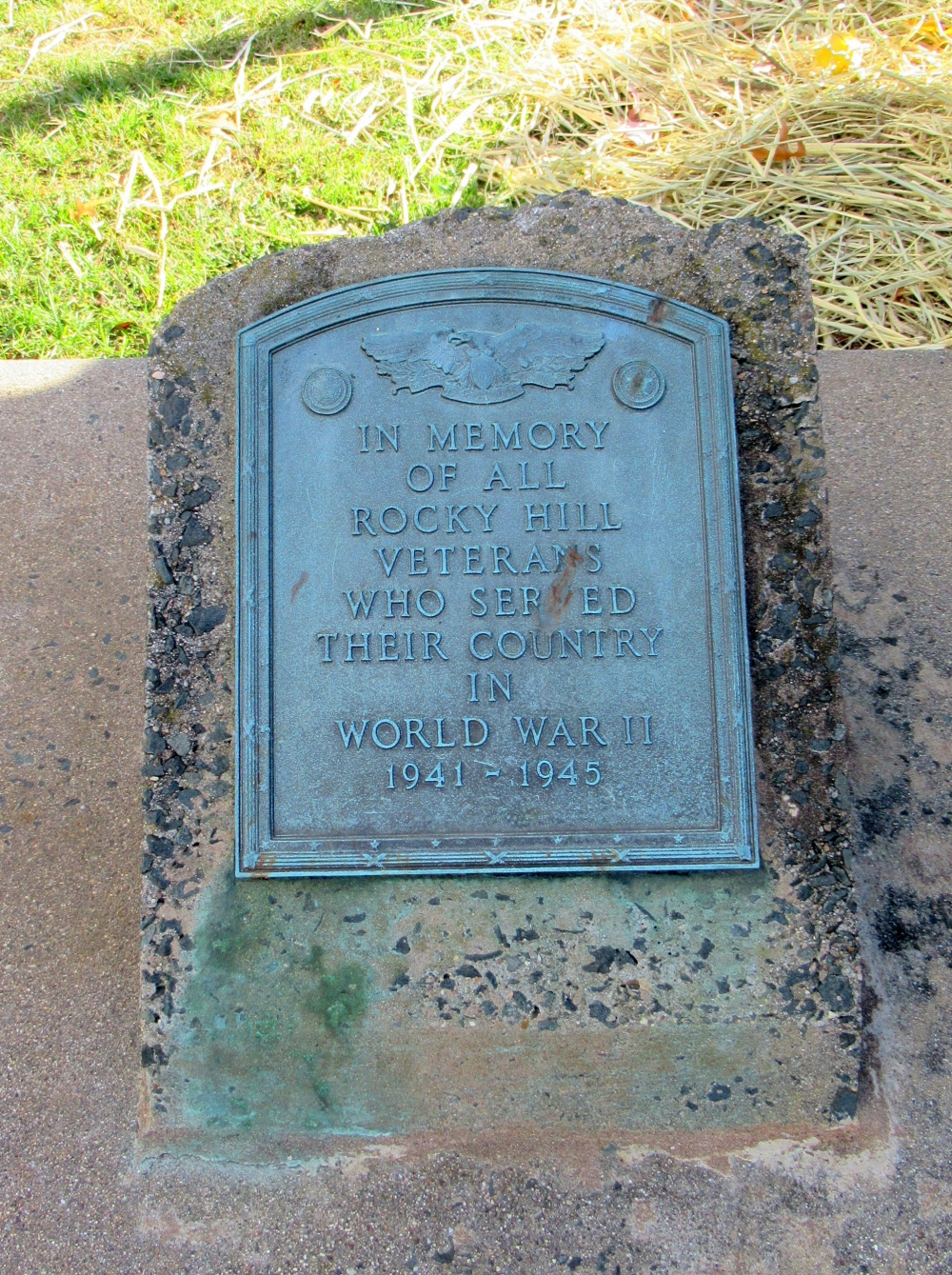 Rocky Hill World War II Veterans Monument