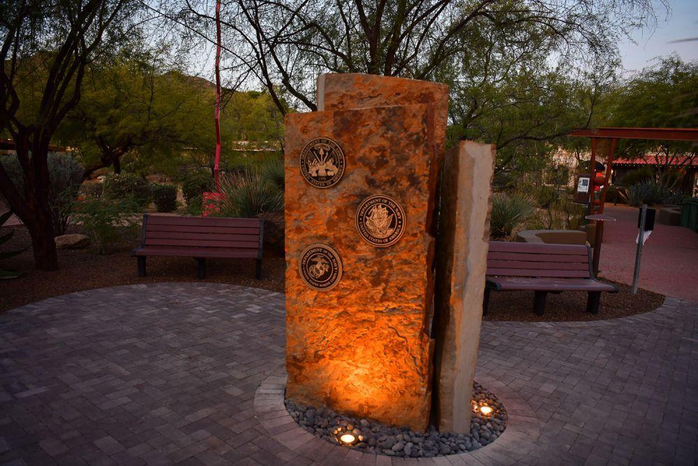Veterans Memorial, Carefree, Arizona