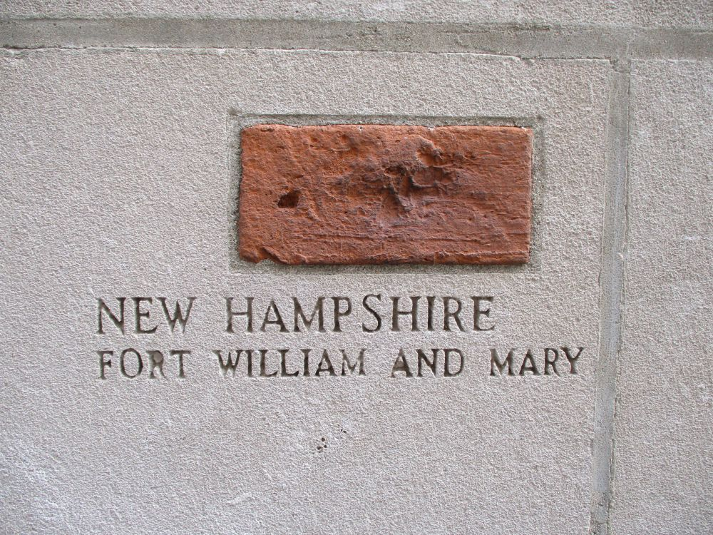 Piece of Fort William and Mary, Chicago Tribune Building