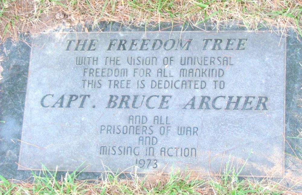 Capt. Bruce Archer Memorial