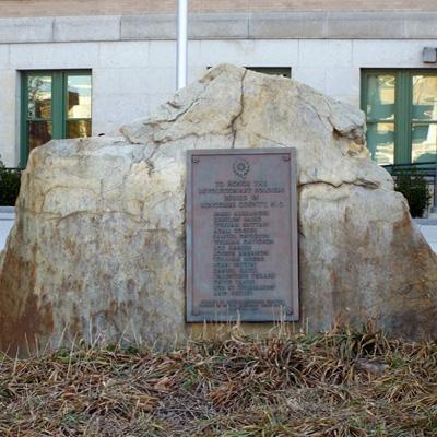 Revolutionary War Soldiers, Asheville