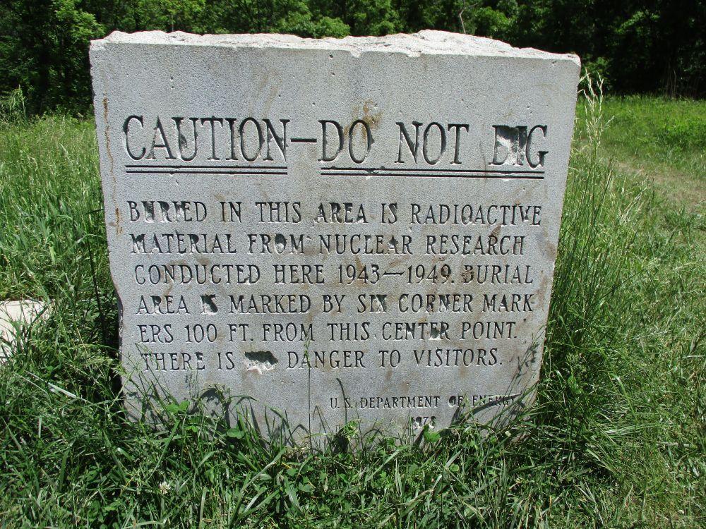 Site A/Plot M Reactive Materials Memorial