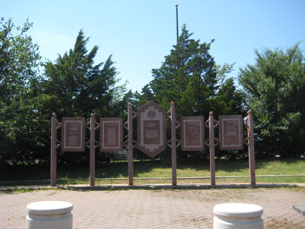 Tinker Air Force Base (AFB), Oklahoma - Major Charles B. Hall Airpark