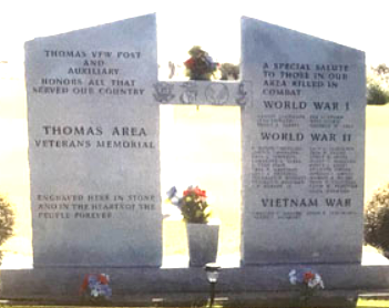 Thomas Area Veterans Memorial