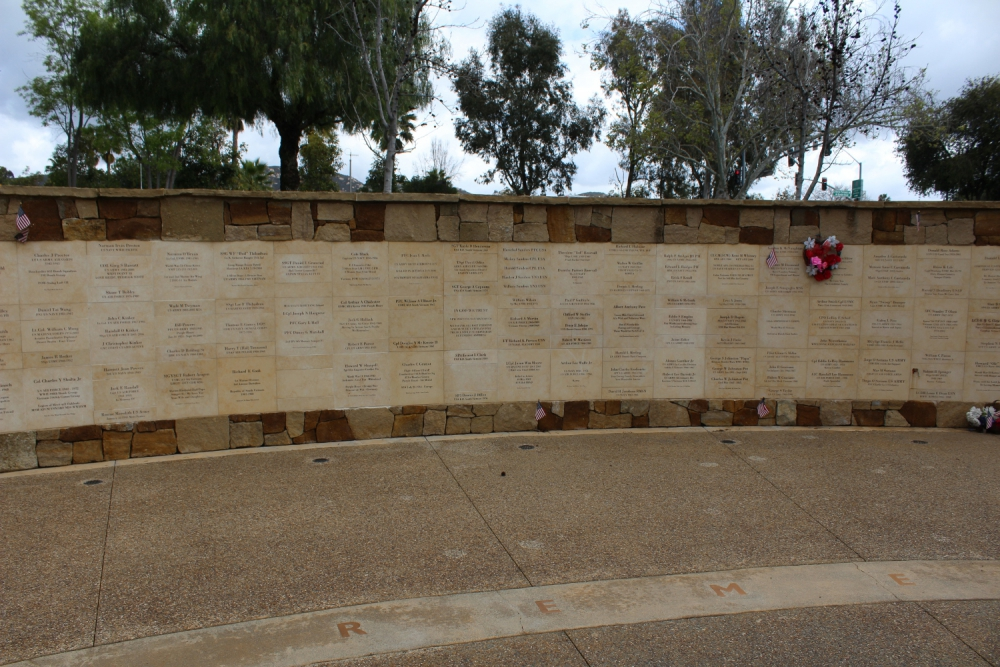 All Veterans Memorial Wall
