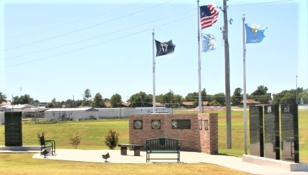 Veterans Memorial - Hinton, Oklahoma