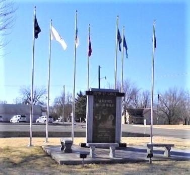 Veterans Honor Walk - Grove. Oklahoma