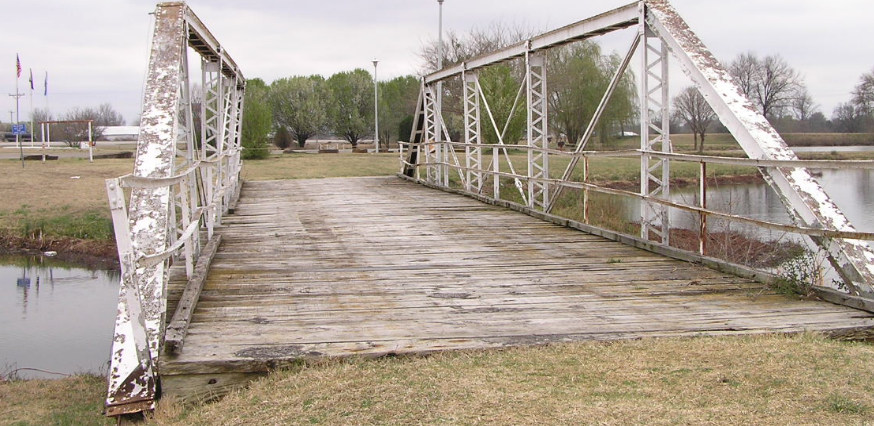 Veterans Memorial Bridge, Coalgate, Oklahoma