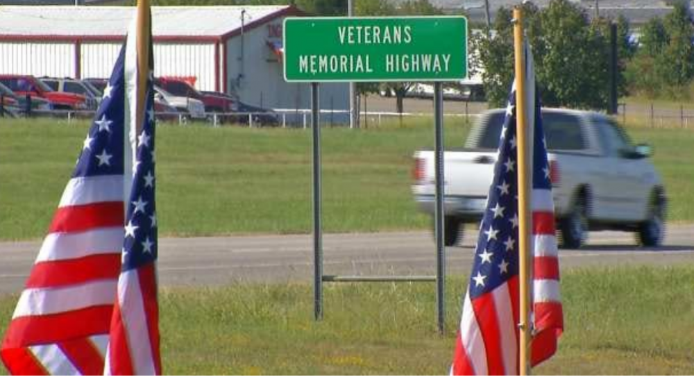 Veterans Memorial Highway, Fort Gibson, Oklahoma