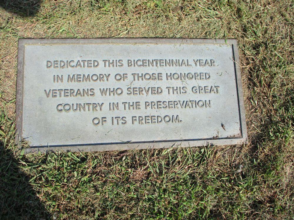 Cedar Park Cemetery Veterans Memorial