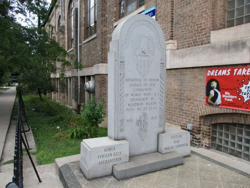 Polish Legion of American Veterans Post 20 Memorial