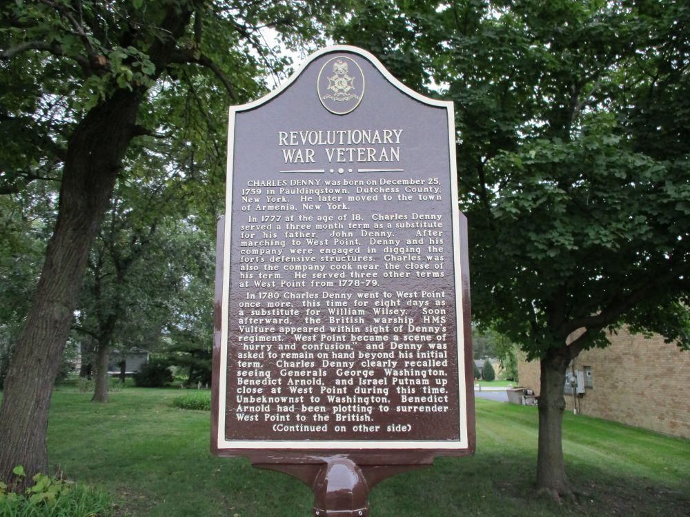 Charles Denny Revolutionary War Memorial